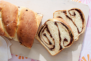 Twisted Chocolate Bread