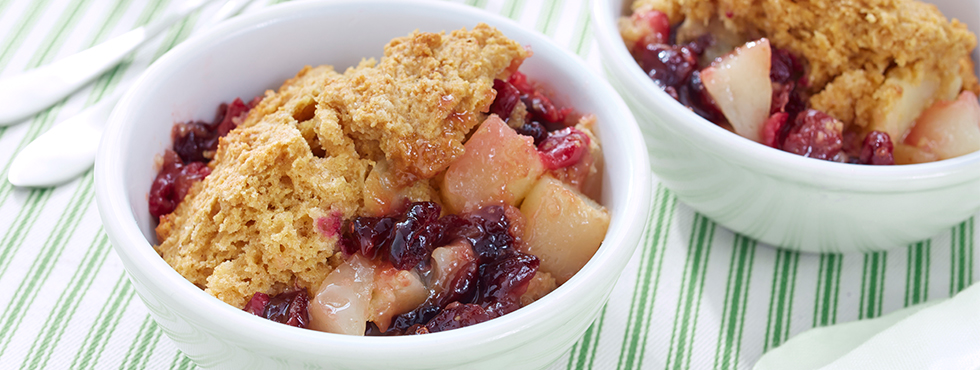 Pear and Cranberry Cobbler | Recipes