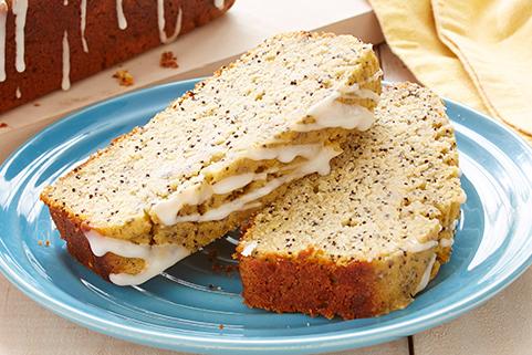 Gluten Free* Lemon Poppy Seed Cake