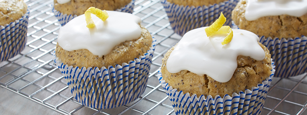 Gluten Free Lemon Poppy Seed Cupcakes | Recipes