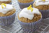 Gluten Free Lemon Poppy Seed Cupcakes