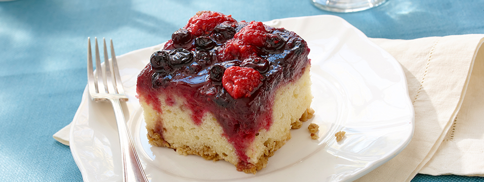 Berry Upside Down Cake | Recipes