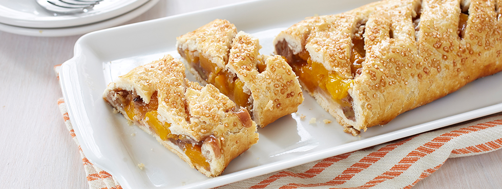 Peach Pecan Strudel | Recipes