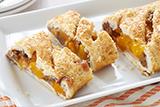 Peach Pecan Strudel