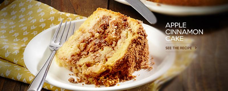 Apple Cinnamon Swirl Cake