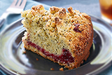 Lemon Poppy Seed Raspberry Coffee Cake