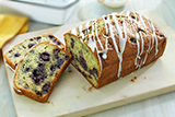 Lemon Poppy Seed Blueberry Loaf