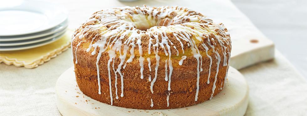 Cinnamon Swirl Streusel Coffee Cake | Recipes