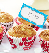 Apple Cinnamon Swirl Muffins