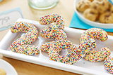 Sprinkled Sugar Cookie Shapes