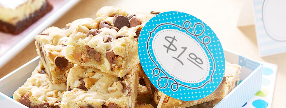 Chocolate Chip Blondies | Recipes