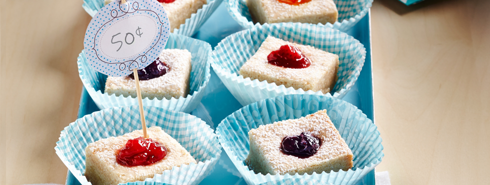 Jammy Thumbprint Squares | Recipes