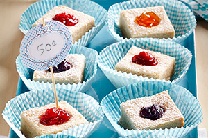 Jammy Thumbprint Squares