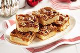 Caramel Pecan Pie Squares