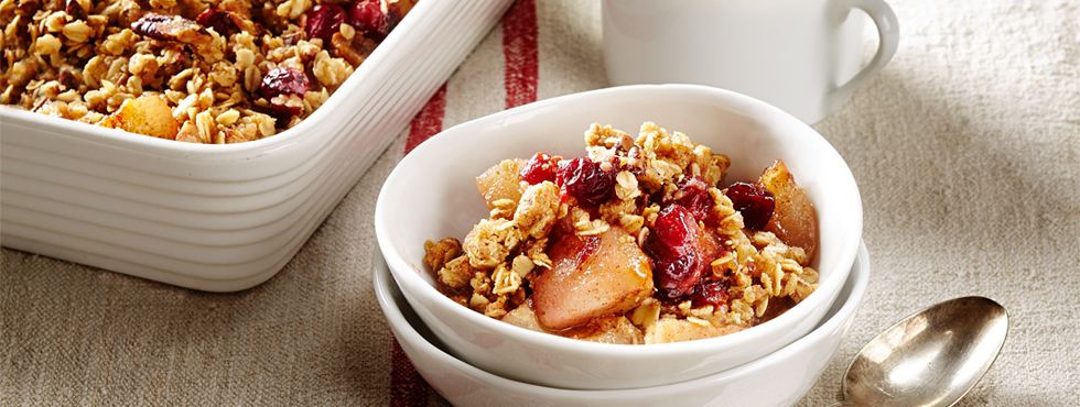 Pear & Cranberry Crisp | Recipes