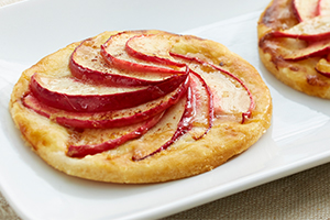Sliced Apple Tart