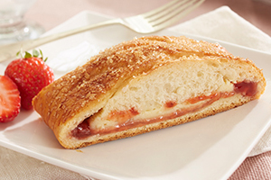 Cream Cheese & Jam Filled Bread