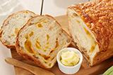 Cheesy Apricot and Walnut Bread