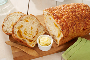 Cheesy Apricot and Walnut Bread