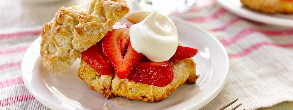 Old fashioned strawberry shortcake | Recipes