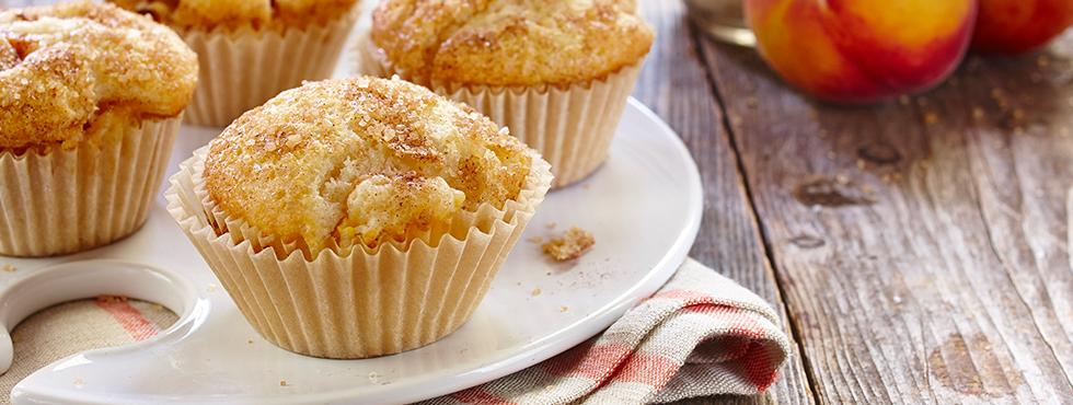 Peach Shortcake Muffins | Recipes