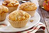 Peach Shortcake Muffins