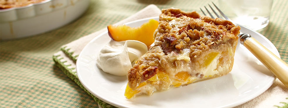 Dutch Peach Pie | Recipes