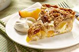 Dutch Peach Pie