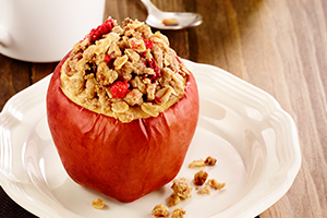 Stuffed Apple Crisp<br />