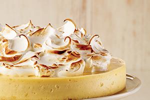 Easy Lemon Meringue Cheesecake<br />