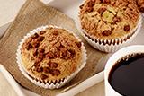 Chocolate Mocha Swirl Muffins