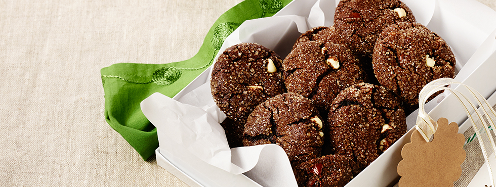Chocolate Mint Sparklers<br />