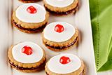 Honey Cinnamon Empire Cookies
