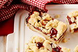 Jammy Shortbread Bars