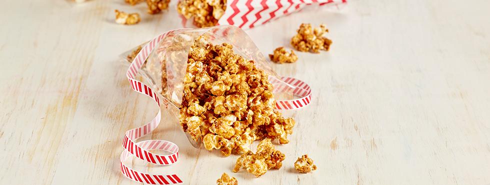 Easy Caramel Popcorn | Recipes