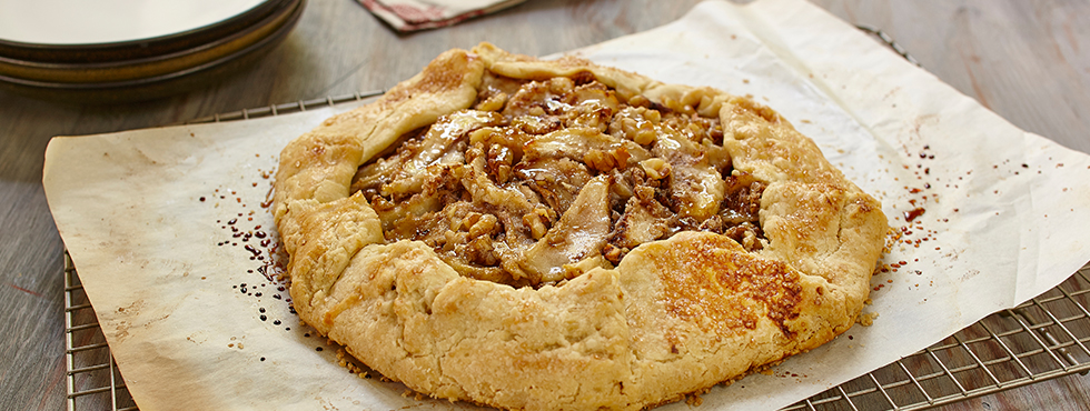 Pear & Walnut Galette | Recipes