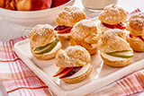 Creamy Fruit Filled Cream Puffs