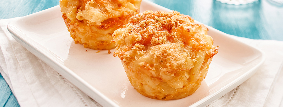 Mac & Cheese Muffins | Recipes