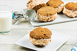 Oatmeal Cookie Ice Cream Sandwiches