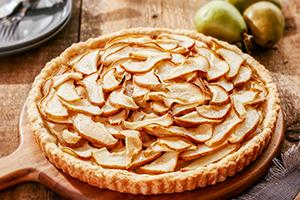 Simple & Easy Pear Tart