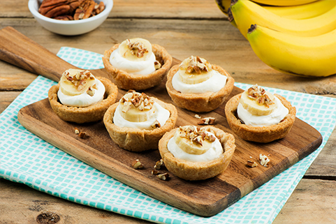 Mini Banoffee Cream Pies