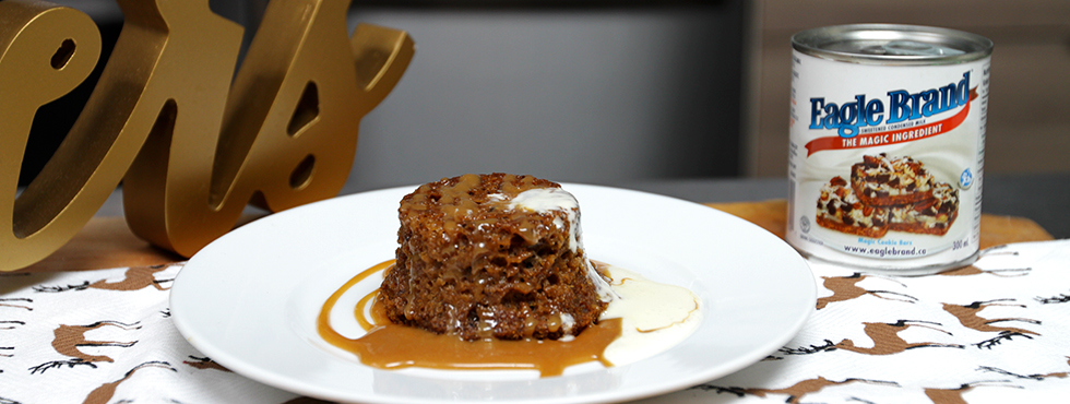 Sticky Toffee Pudding with Salted Caramel | Recipes