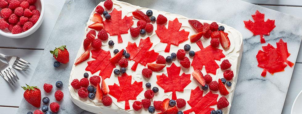 Canada Day Cake  | Recipes