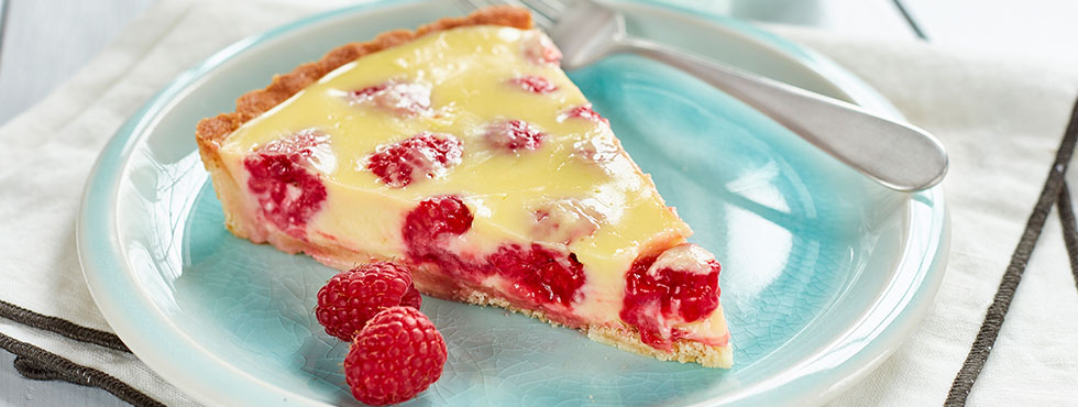 Lime Raspberry Tart | Recipes