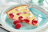 Lime Raspberry Tart