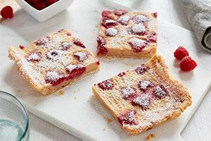 Raspberry Buttermilk Pie