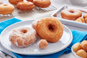 Light and Fluffy Cake Donuts