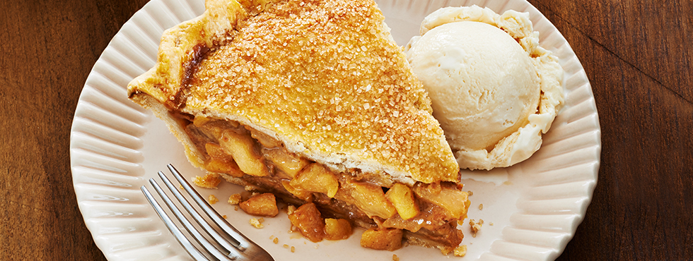 Salted Caramel Apple Pie | Recipes