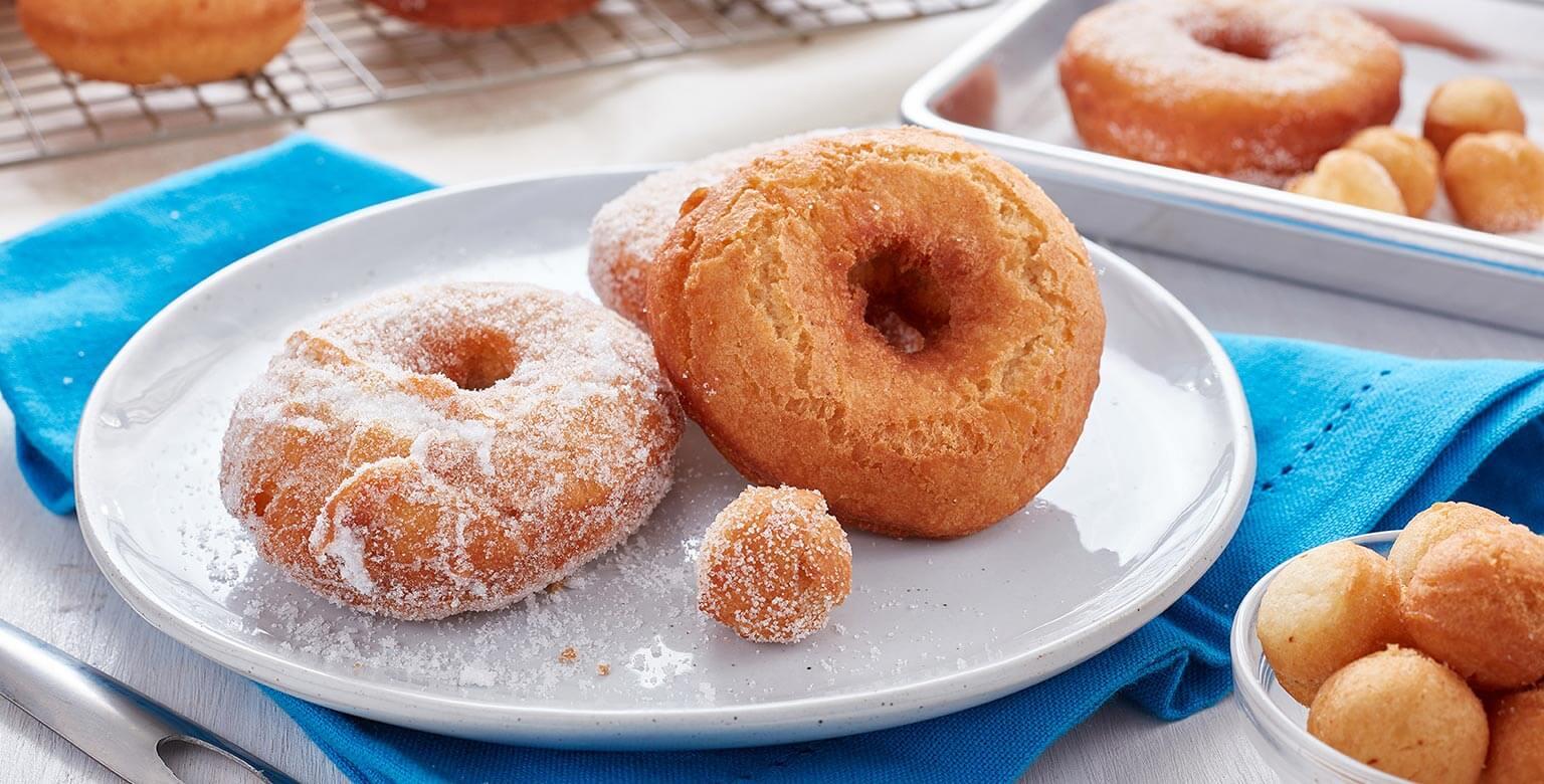 Recipe Light Fluffy Plain Cake: Light And Fluffy Cake Donuts