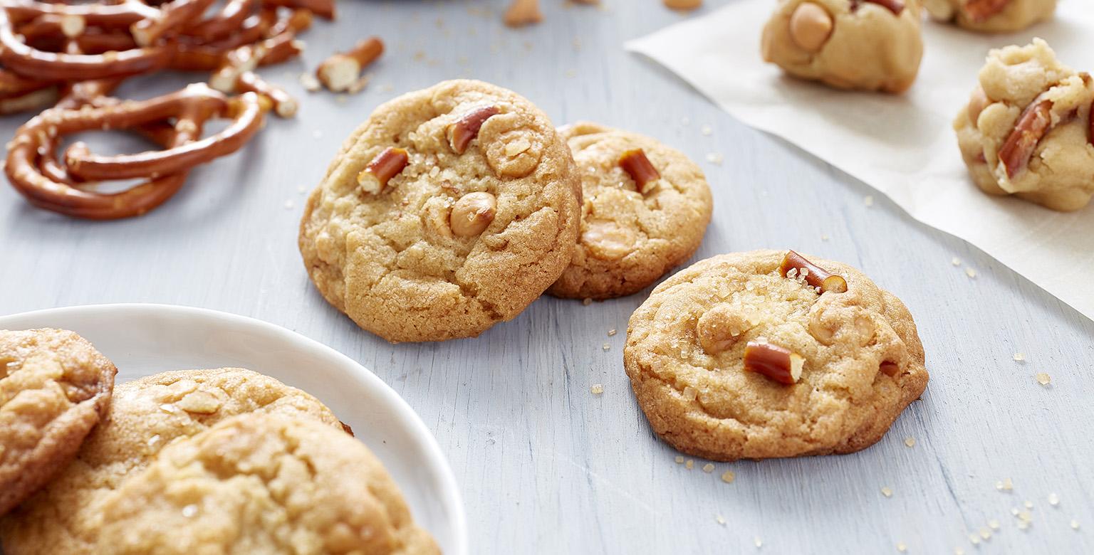 Butterscotch Pretzel Cookies